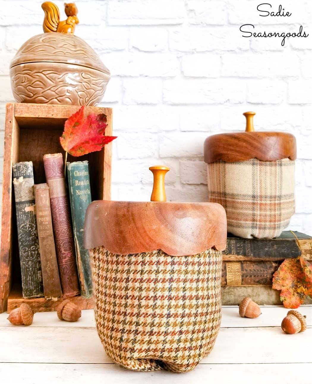 acorn decorations