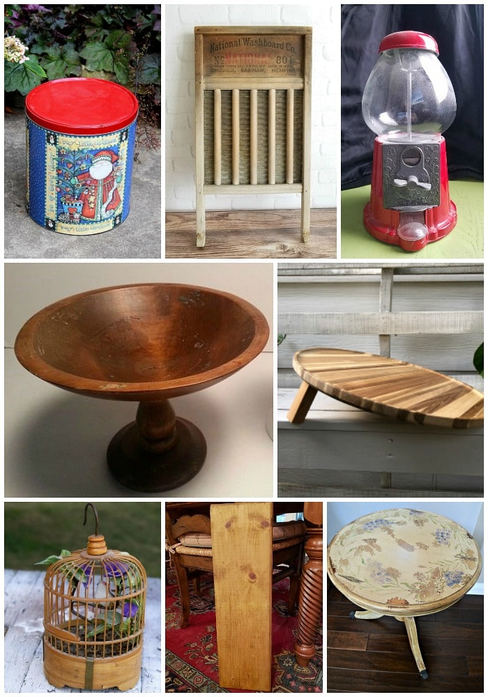 upcrafting projects from the thrift store