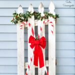 Candy Cane Decorations for Christmas Porch Decor