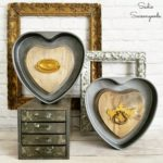 Industrial Heart Decorations for Valentine's Day with Heart Shaped Cake Pans