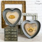 Heart Decorations and Industrial Farmhouse Decor for Valentine's Day