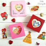 Upcycling a Ring Box into Valentine's Day Decor