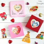 Upcycling a Ring Box into Valentine's Day Home Decor