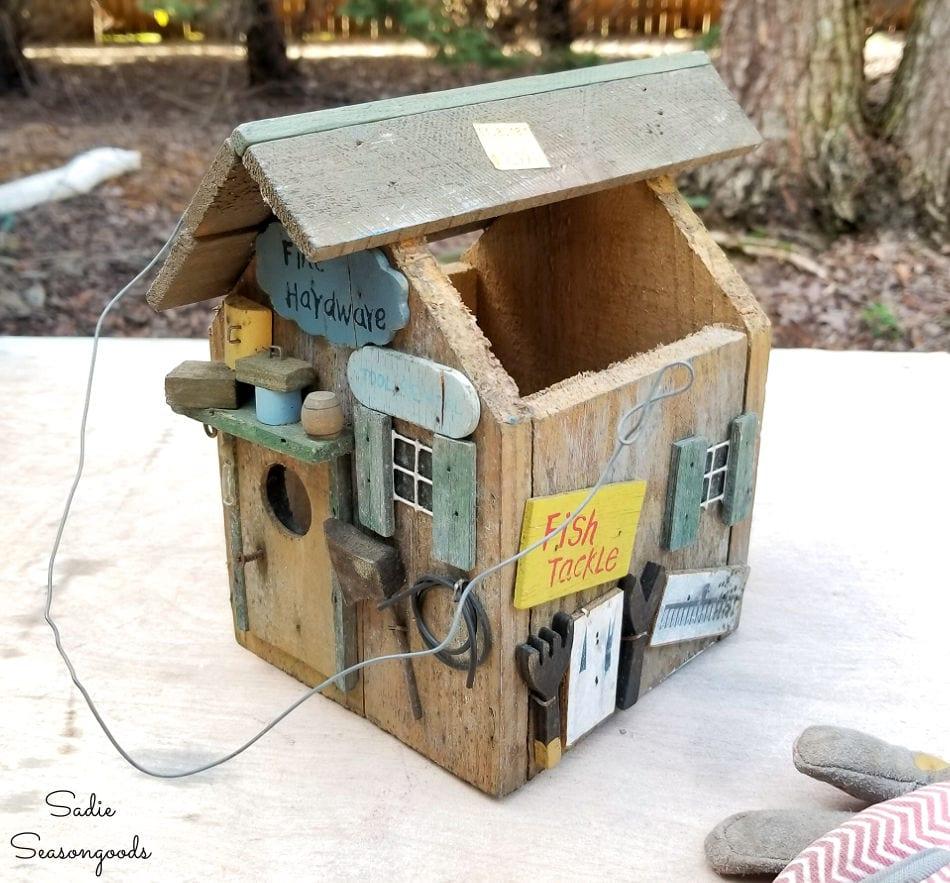 birdhouse roof ideas