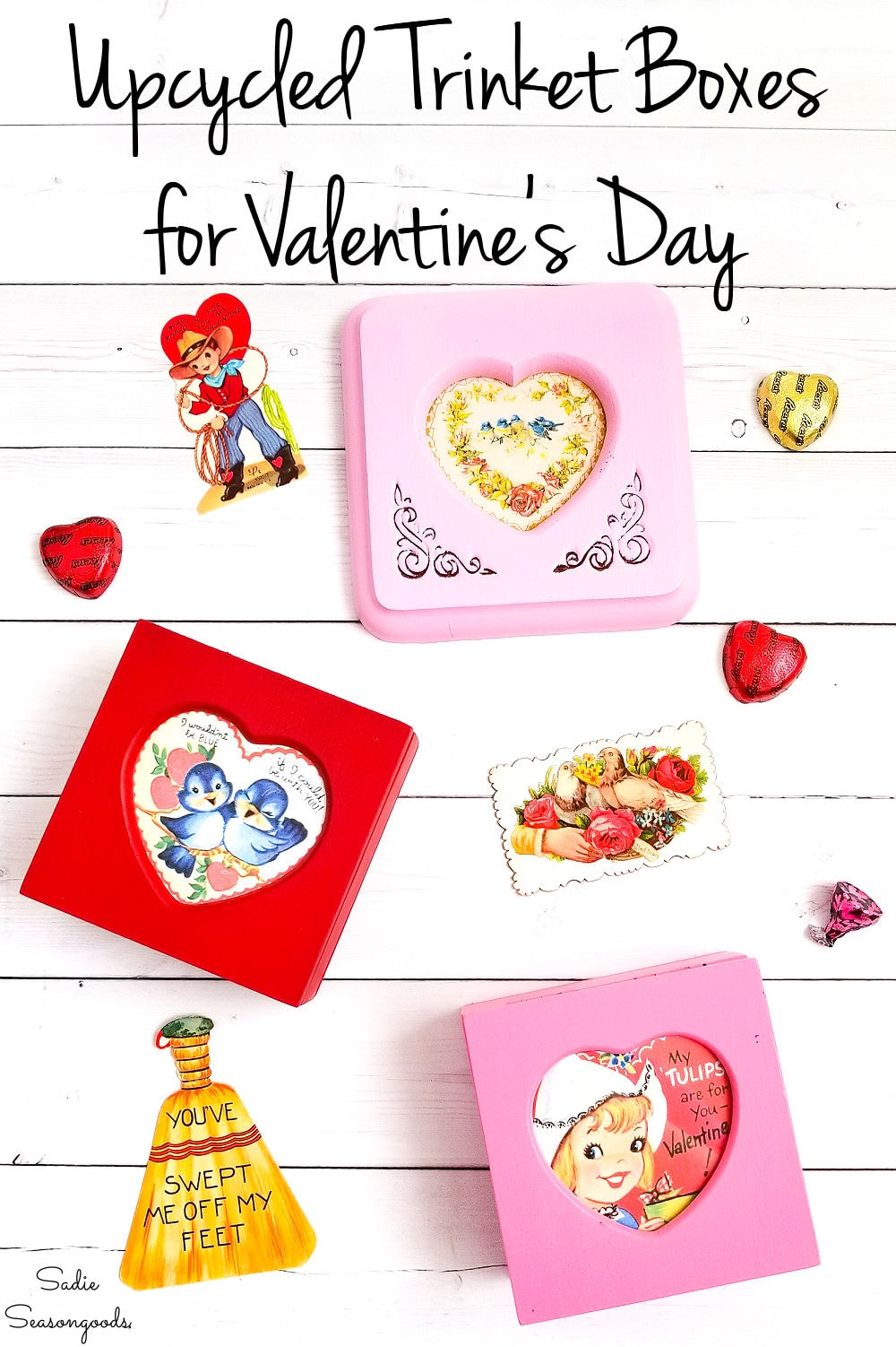 Easy upcycling idea for Valentine's Day