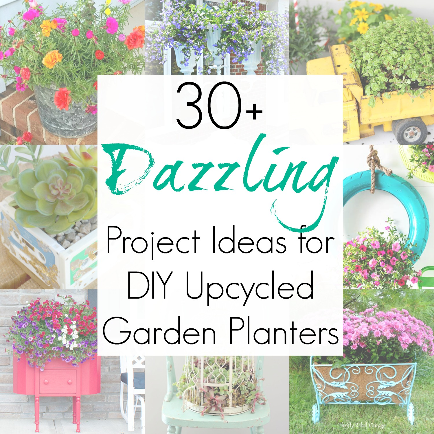 Upcycling Ideas Repurposing Projects For Garden Planters Garden Pots
