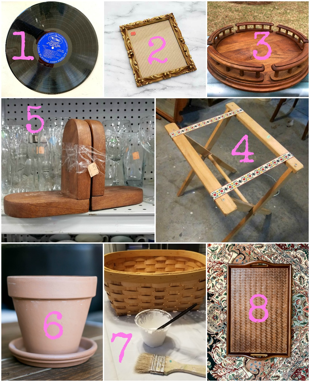 Upcycling ideas for thrifted or thrift store pieces from the best upcycling bloggers around_February 2019