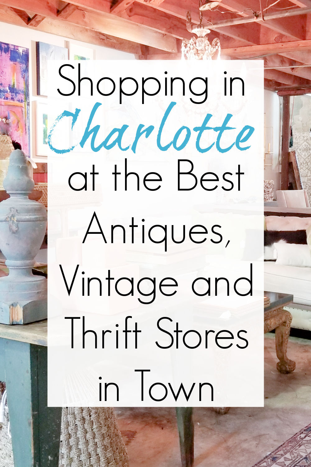 thrift and antique stores charlotte nc