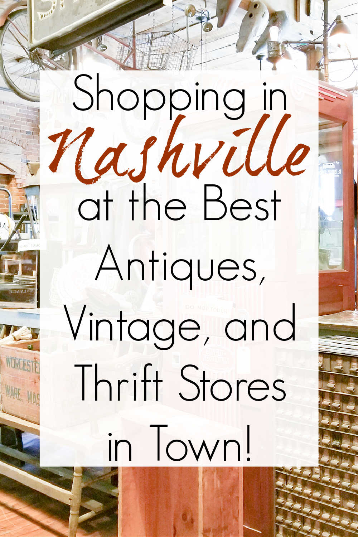 thrift and antique stores nashville tn