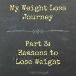 Secondhand Slim Down - My Reasons to Lose Weight