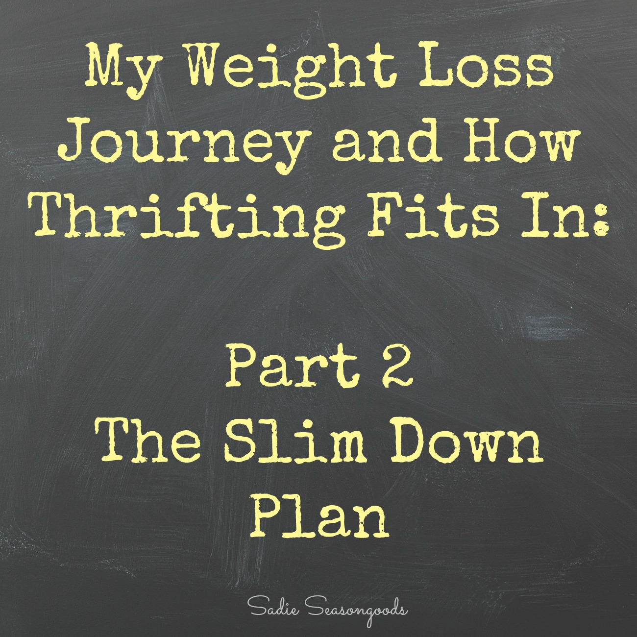 My Weight Loss Plan – Lose Weight Naturally
