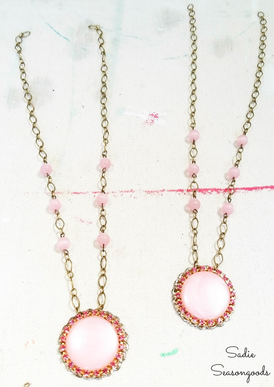 Best friend necklaces for adults