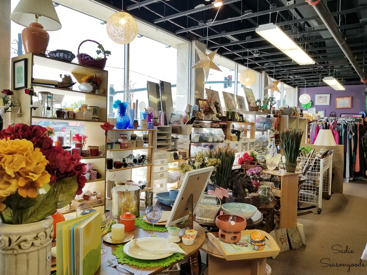 Hendersonville NC shopping at Safelight Resale Store for Things to do in Hendersonville NC by Sadie Seasongoods