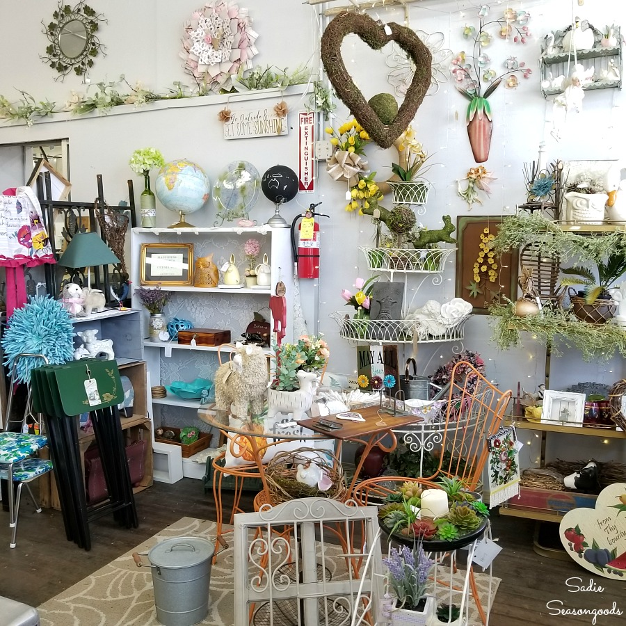 Amazing grace ministries Vintage & Thrift for Hendersonville NC shopping by Sadie Seasongoods