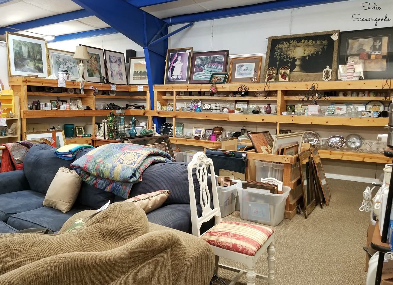 Thrift stores Hendersonville NC at Council on Aging Thrift Shop by Sadie Seasongoods