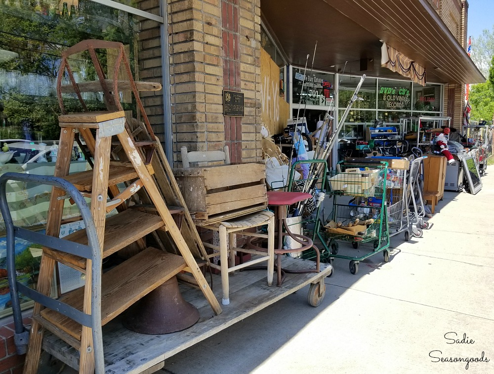 Things to do in Hendersonville NC at Junk and Disorderly by Sadie Seasongoods