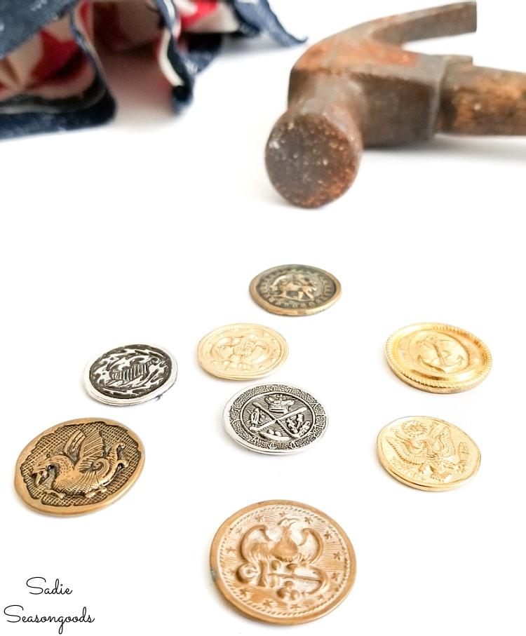 coin charms for diy boho decor