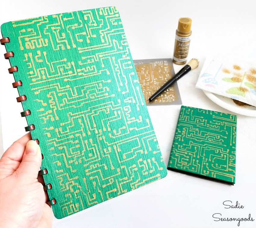 Password book with tabs by upcycling a telephone address book