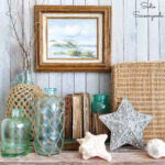 Beach Cottage Decor from the Thrift Store