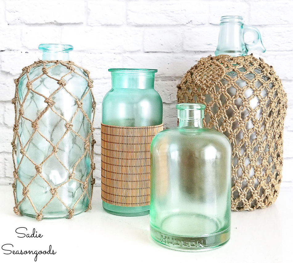 coastal collection of bottles
