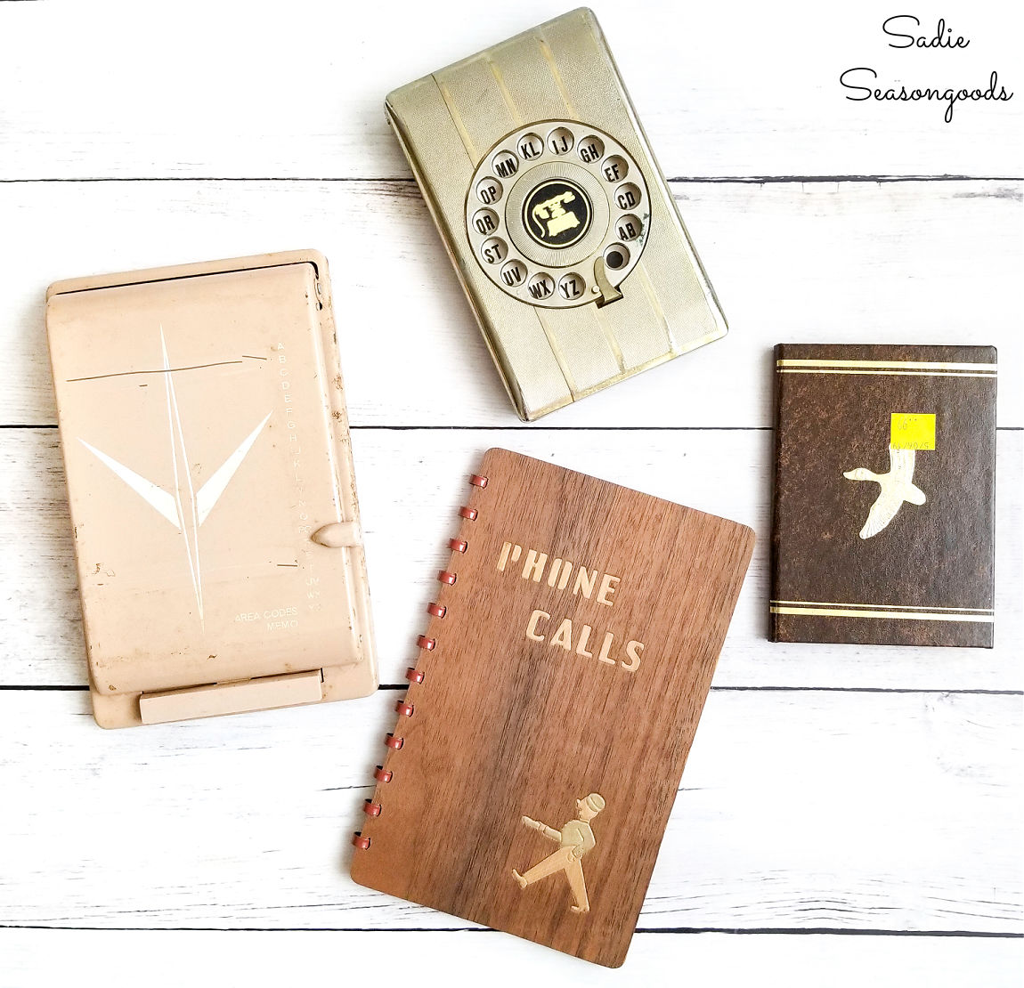 Vintage address books