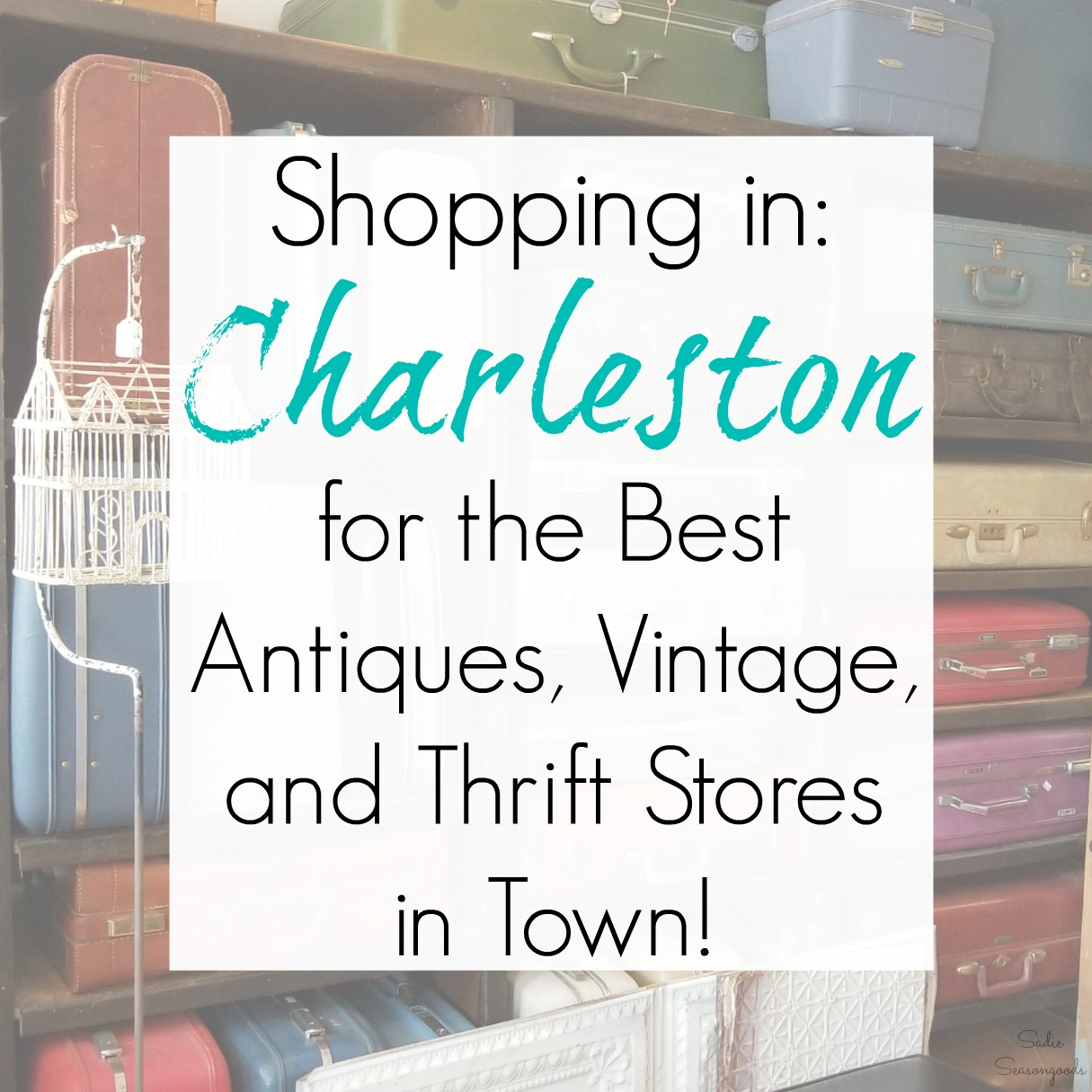 Shopping in Charleston, SC: Best Antiques, Vintage, and Thrift Stores