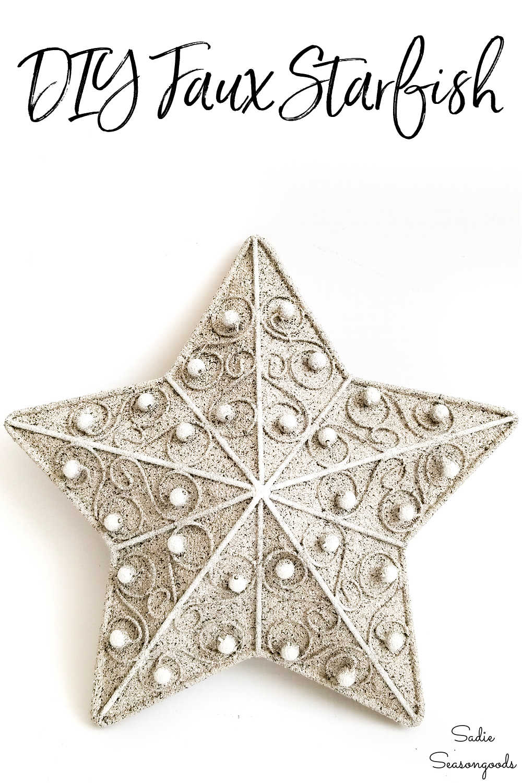 metal starfish for ocean decor