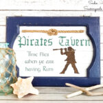 Pirate Sign as Nautical Wall Decor