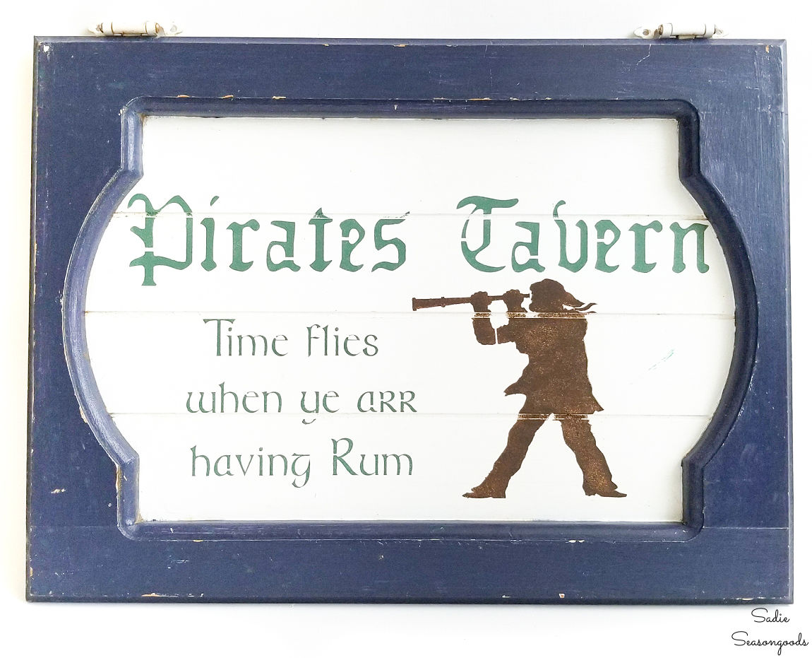 tavern sign or pirate sign