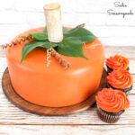 Cake Dome for Fall Party Decor
