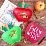 Fall Apple Decor from Monkey Pod Bowls