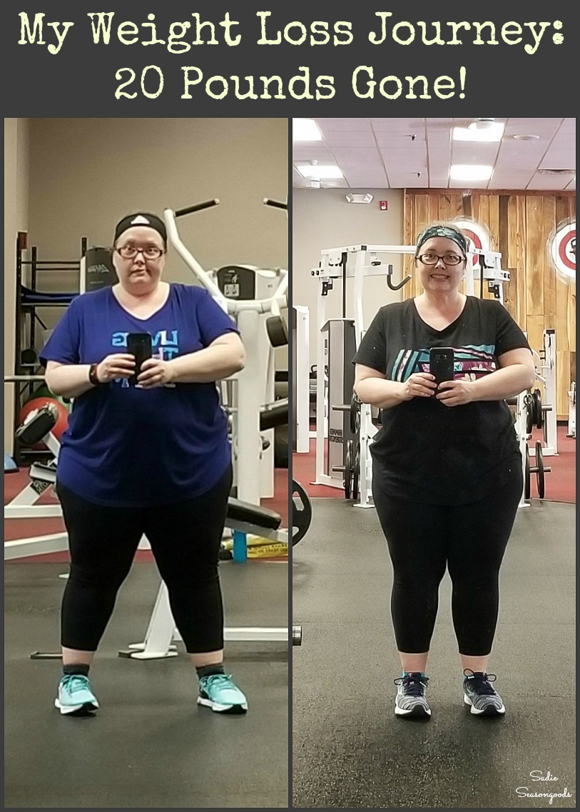 My weight loss journey and how I lost twenty pounds and thrift shopping for used clothing in smaller sizes