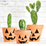 Boho Style Halloween Jack-o-Lantern