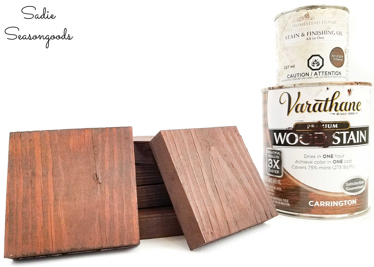 carrington wood stain on reclaimed wood