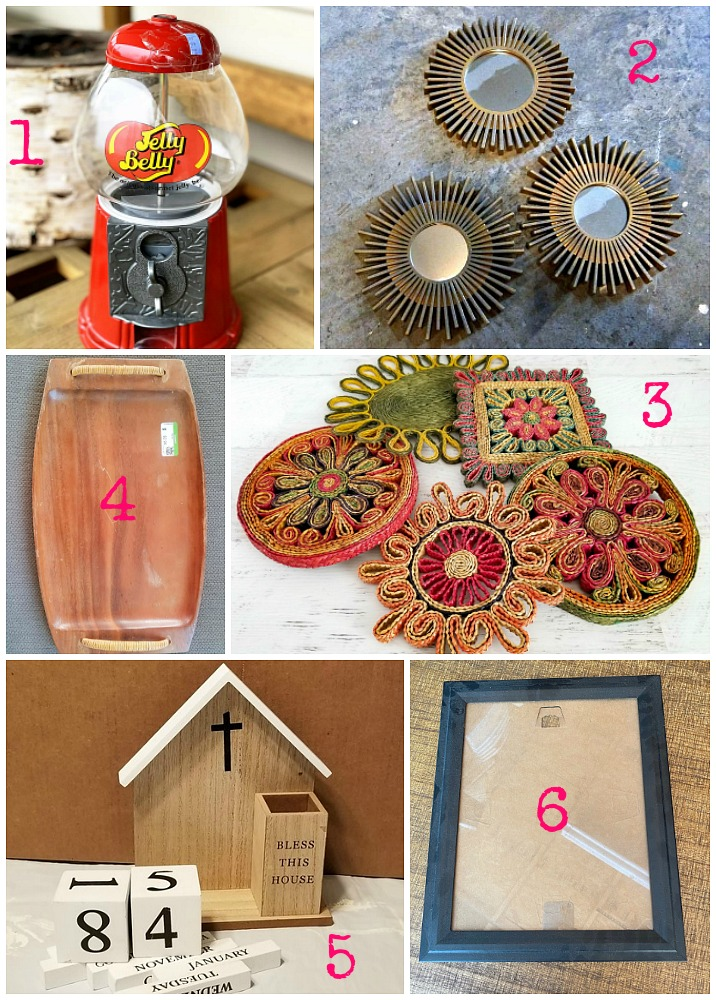 Thrift store crafts and upcycling ideas from the best upcycling bloggers