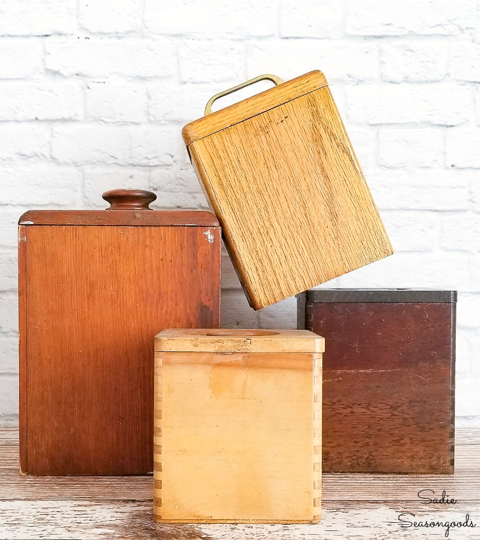 Retro Canisters For Mid Century Modern Kitchen Decor