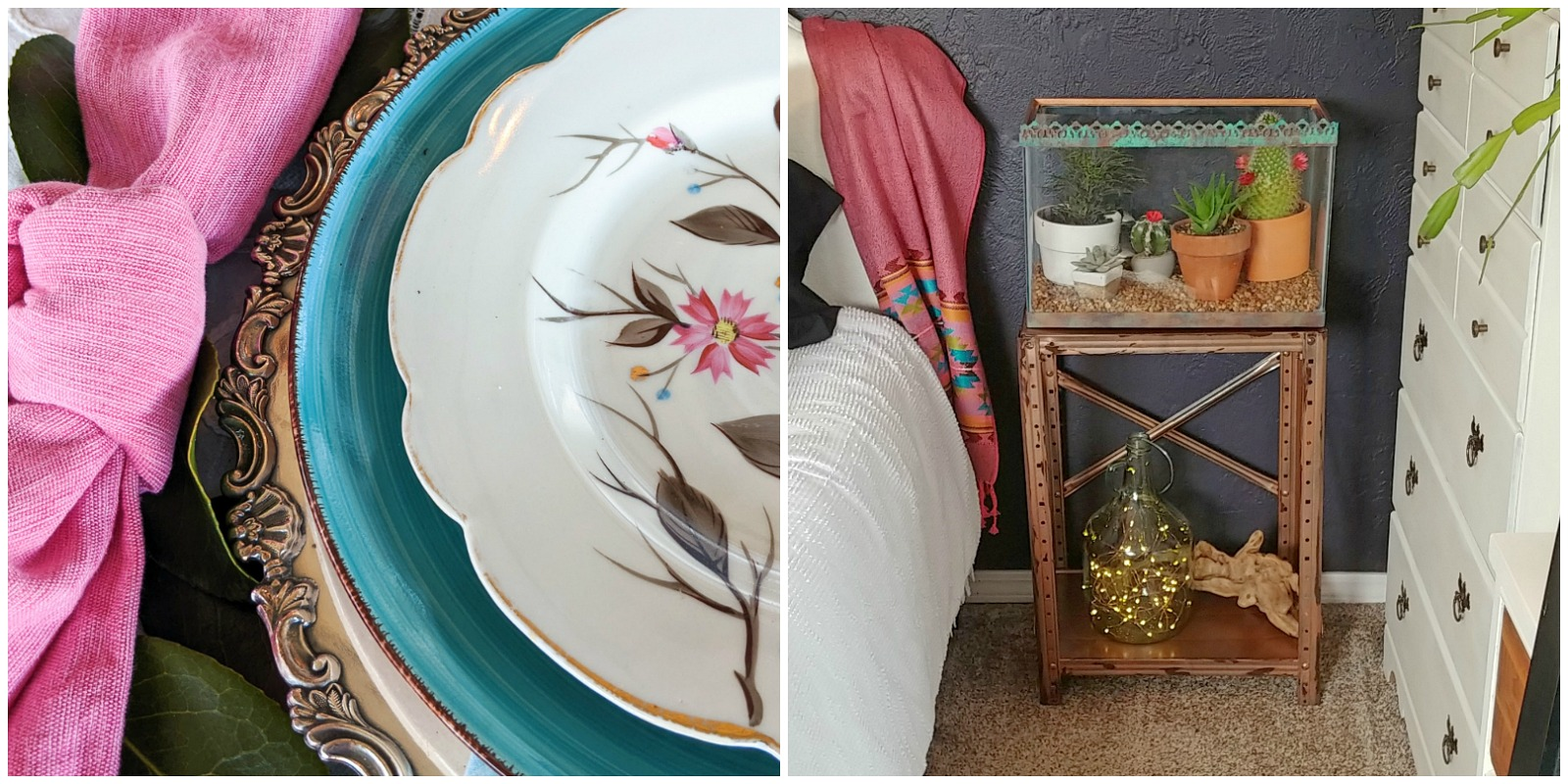 Floral Decor and Garden Home Decor by the Creative Vintage Darlings