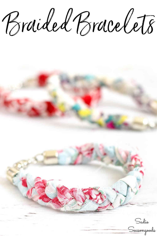 how to make braided bracelets