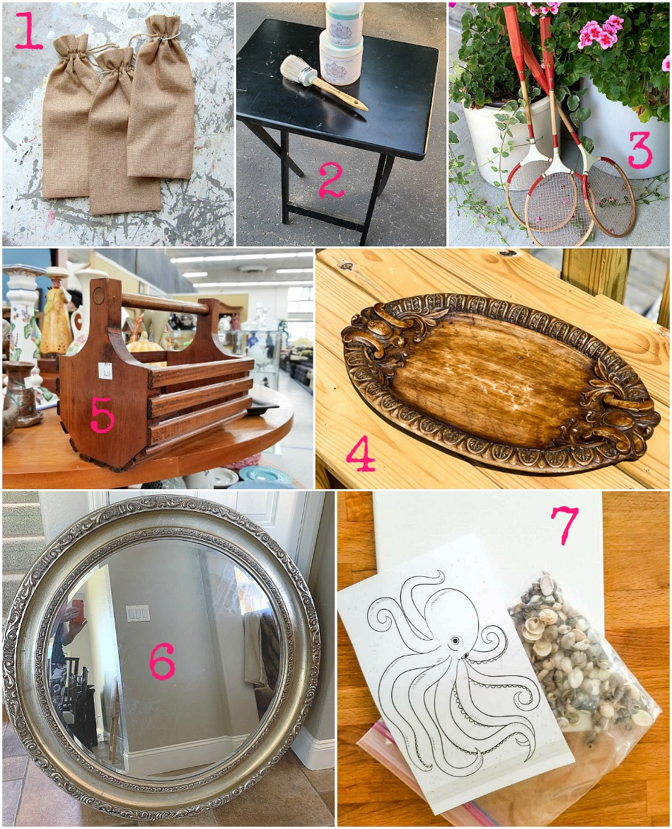 Easy upcycling ideas by the best bloggers with thrifted pieces