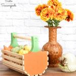 Pumpkin Basket for Fall Decor