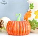 Bun Feet as Wood Pumpkins for Fall Home Decor
