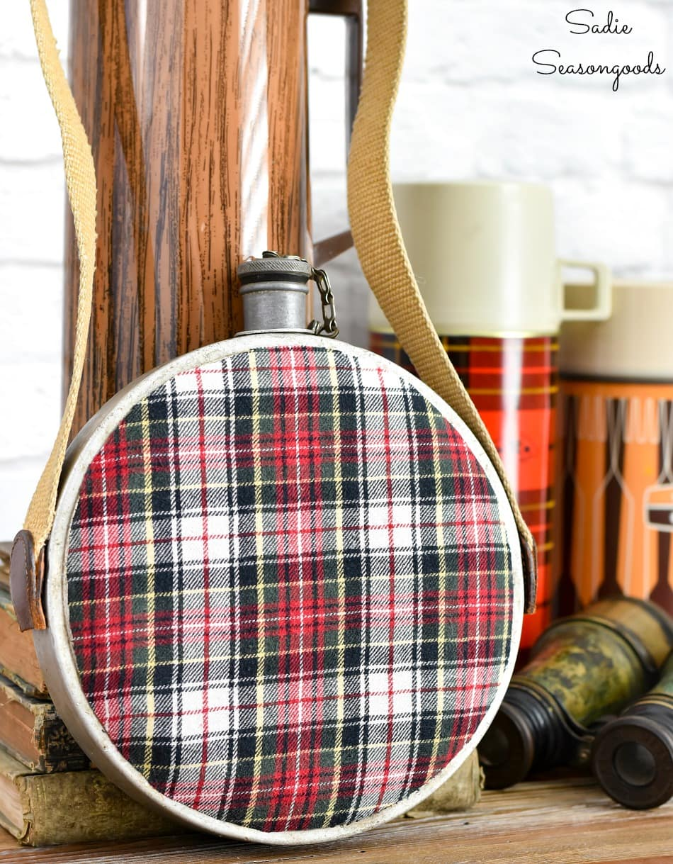 Flannel crafts for making the mountain cabin decor
