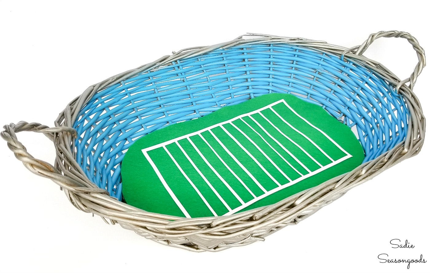 Football party decor for social distance tailgating