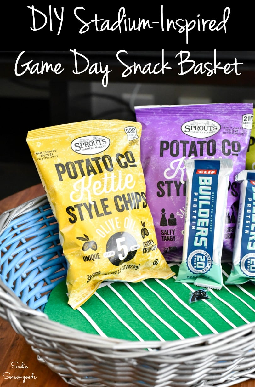 Game day decor for tailgating at home