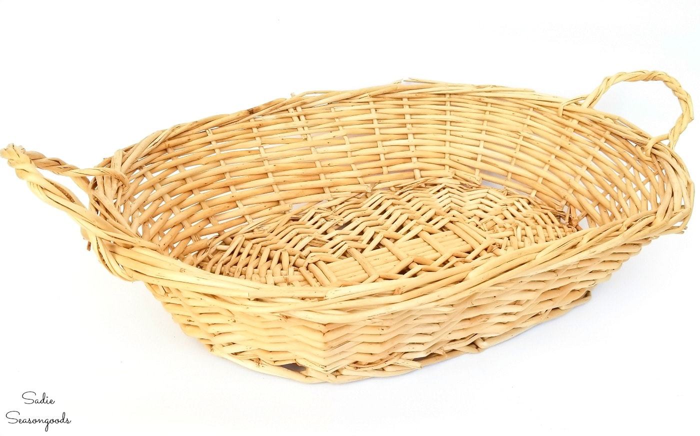 Painting a basket to look like the Carolina Panthers stadium