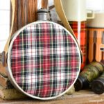 Upcycling a Vintage Canteen with a Flannel Shirt
