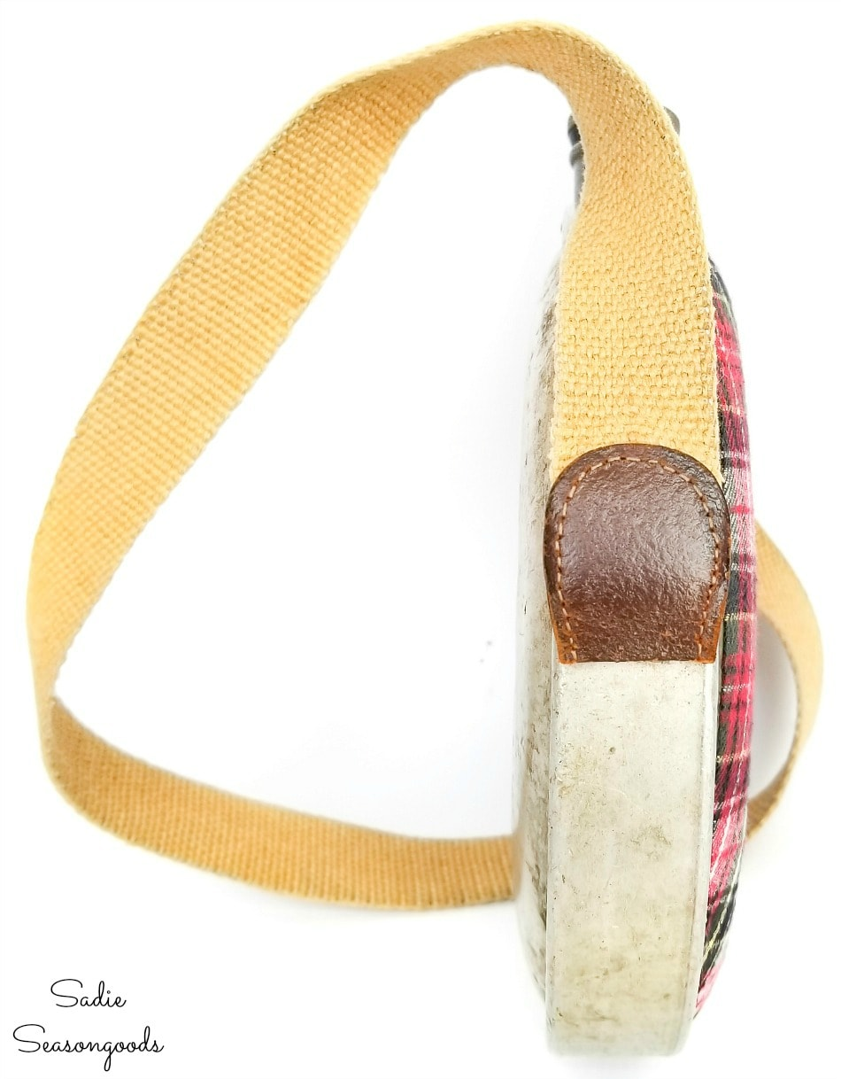 Woven belt as a canteen strap
