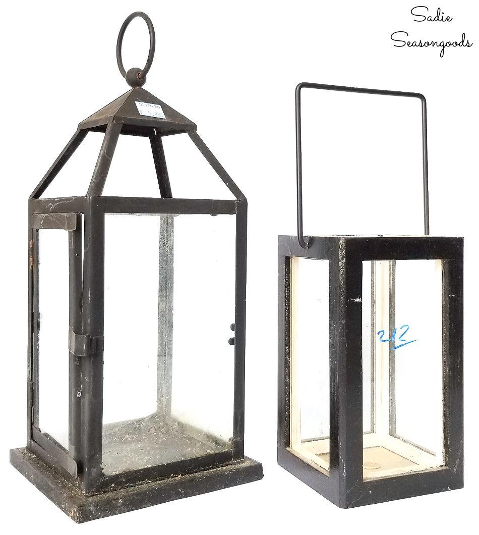 lanterns for a halloween terrarium