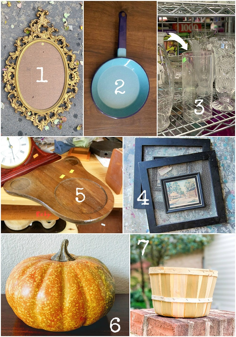 Thrift store makeovers from the best repurposing bloggers
