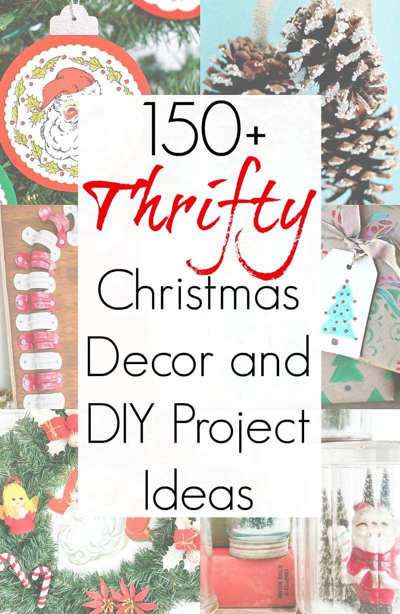 Christmas at home with these thrifty decor ideas